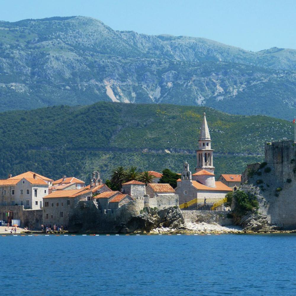Stadje aan zee Montenegro